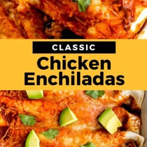 homemade chicken enchiladas pinterest