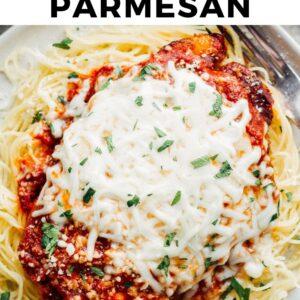 crockpot chicken parmesan pinterest collage