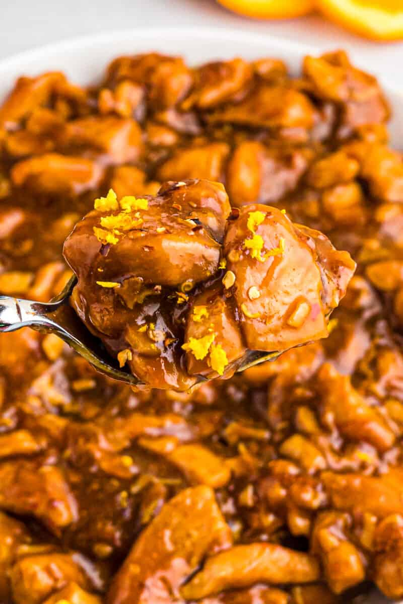 orange chicken in instant pot