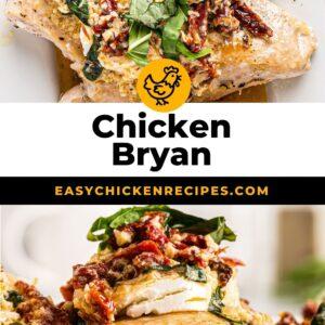 chicken bryan pinterest collage