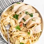 featured crockpot tuscan chicken