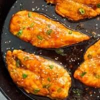 featured honey garlic chicken breasts