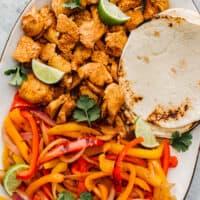 featured instant pot chicken fajitas
