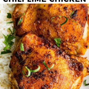 air fryer chili lime chicken pinterest