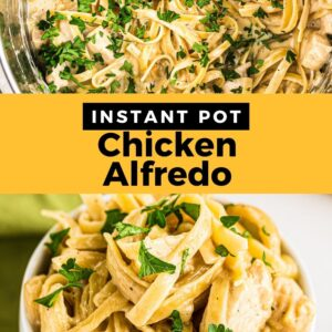 instant pot chicken alfredo pinterest