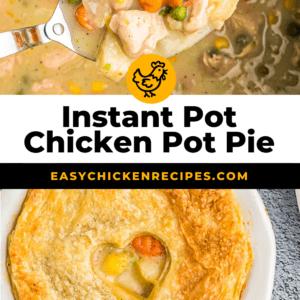 instant pot chicken pot pie pinterest
