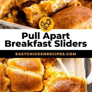 pull apart breakfast sliders pinterest