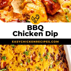 bbq chicken dip pinterest collage