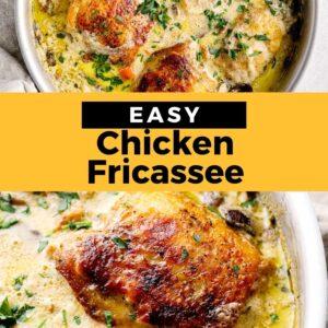 chicken fricassee pinterest