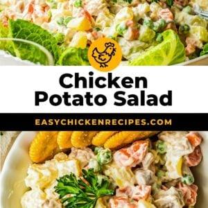 chicken potato salad pinterest