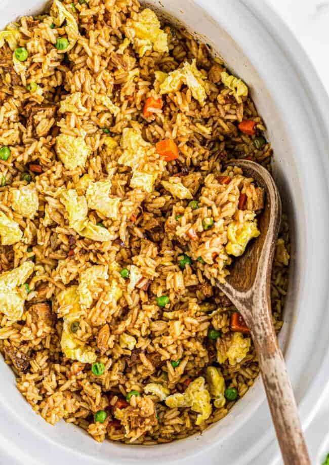crockpot chicken fried rice google
