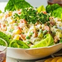 featured chicken potato salad