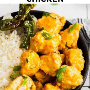 air fryer orange chicken pinterest