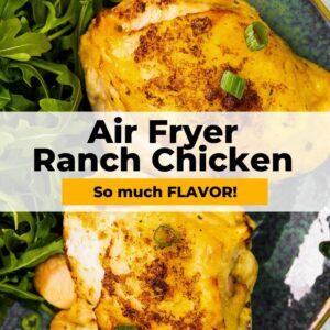 air fryer ranch chicken pinterest
