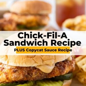 chick fil a sandwich pinterest collage