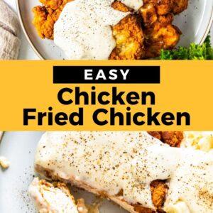 chicken fried chicken pinterest