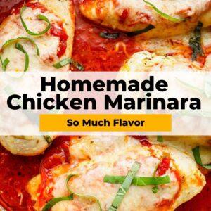 chicken marinara pinterest