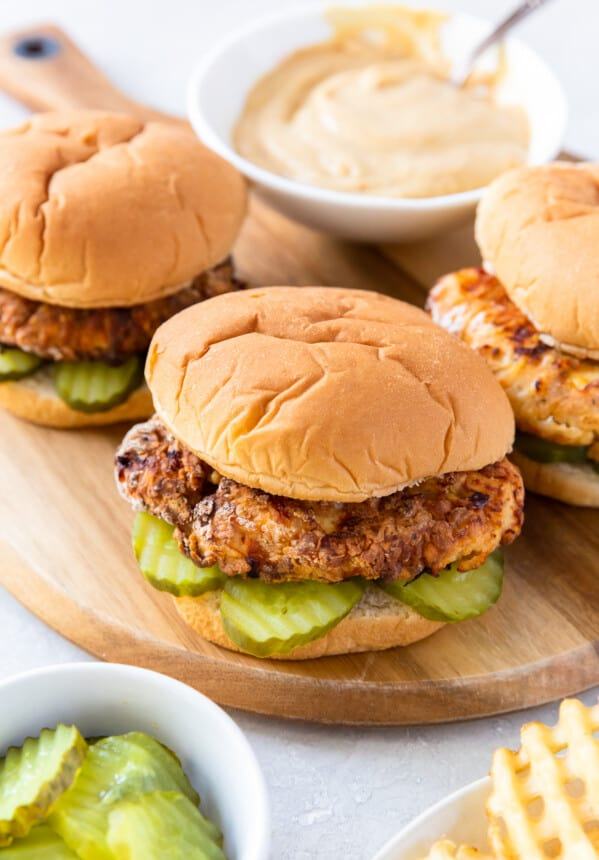 copycat chick fil a sandwiches with sauce