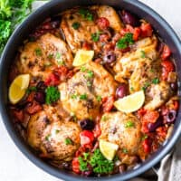 featured chicken provencal