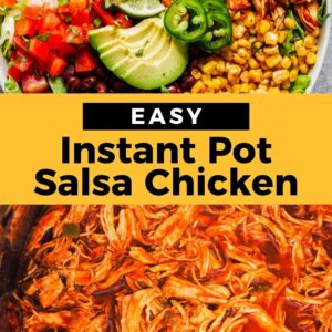 instant pot salsa chicken pinterest