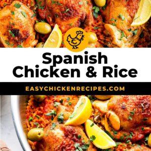 Spanish chicken and rice pinterest