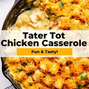 tater tot chicken casserole pinterest