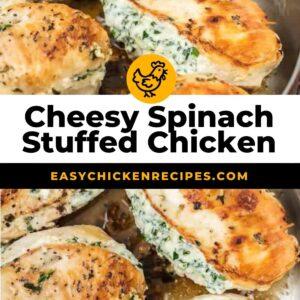 spinach stuffed chicken pinterest