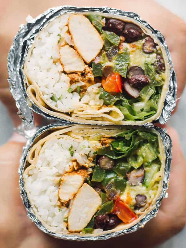 chipotle chicken burritos google